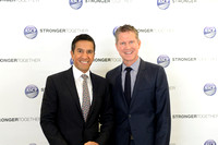 Backstage with Dr. Sanjay Gupta