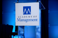 639 Academy of Management 2016 in Anaheim-Presidential Address & Awards
