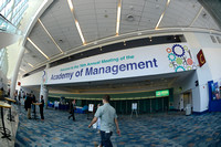 018 Academy of Management 2016 in Anaheim-Signage