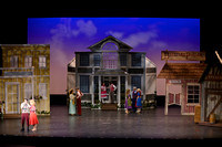stage sets for Music Man 3