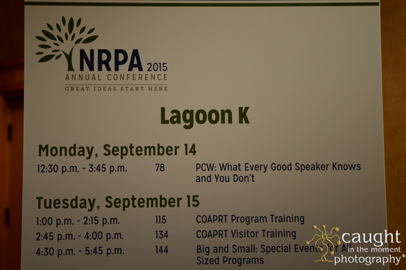 741 NRPA 2015 Education Sessions